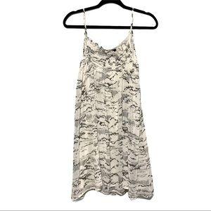 Patterson J. Kincaid bird print dress